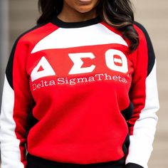 Retro Outfits, Vintage Outfits, Delta Sigma Theta Apparel, Delta Girl, Varsity Sweater, Beautiful Evening Gowns, Custom Greek Apparel, Vintage Dress Patterns, Greek Clothing