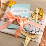 Wonderland gift packaging idea from Stampington & Company