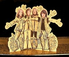 Jethro Tull--pop up inside the vinyl version of Stand Up