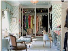 Dressing Room Design | Designer crush