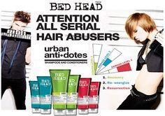 Tigi Urban Anti-dotes  http://www.salon-collective.co.uk/tigi_bed_head_urban_antidotes.php