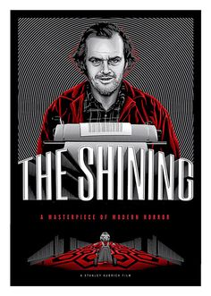 The Shining Movie Poster, available at 45x32cm.This poster is printed on matt coated 350 gram paper.