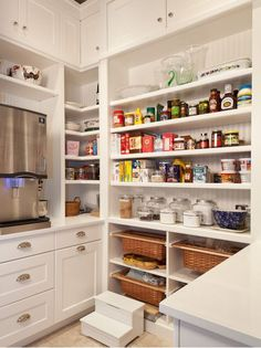 What Would Your Dream Walk-In Pantry Look Like? - Addicted 2 Decorating®