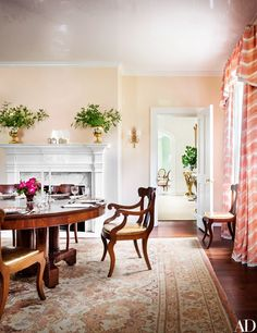Love This Mahogany Empire Revival Style Dining Room Set Flame Inspiration Dining Room Empire Design Decoration
