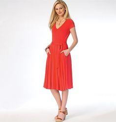 Patron Mc Call's 7160 McCall's 7160 Robe pour femme, facile,  tailles 34 à 42 et 42 à 50