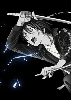 Yato | Noragami / Noragami Aragoto #Anime #Manga ☆Official Art from the official website.