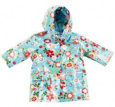 Looking for Pluie Pluie Toddler Girls Blue Floral Lined Raincoat Outerwear ? Check out our picks for the Pluie Pluie Toddler Girls Blue Floral Lined Raincoat Outerwear from the popular stores - all in one. Dog Raincoat, Yellow Raincoat, Hooded Raincoat, Cute Raincoats, Raincoats For Women, Jackets For Women, Aqua, Ted Baker Womens, Rain