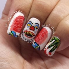 Pin for Later: These Horror-Movie Manicures Will Make You Pumped For Halloween It