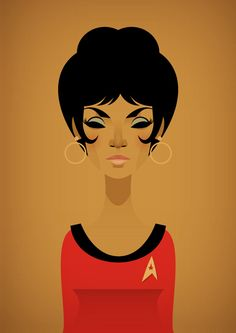 "TV's first interracial kiss occurs between Captain Kirk (William Shatner) & Lt. Uhura (Nichelle Nichols) on the November 22, 1968 episode of Star Trek. When Nichols met Dr. Martin Luther King, Jr. at a civil rights meeting & discussed leaving the show, he told her ""You cannot! You absolutely must not… You're a first. This is not a female role. This is not a black role. This is a quality role, an equal role.... the way we are supposed to be — on an equal basis.. (with an equal) level of…"