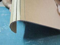 3 techniques pour courber le carton