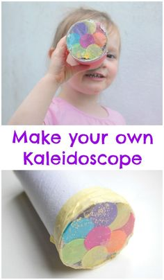 Make your own kaleidoscope craft for kids