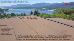 2ply Torch On Membrane #vancouver #burnaby #roofing