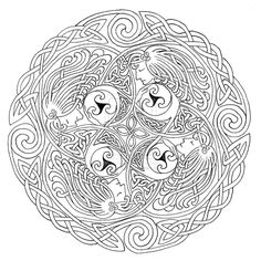 celtic designs coloring pages deviantart more like norse mythology tattoo design fenrir detail by