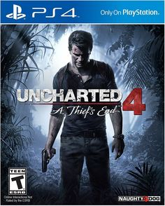 Uncharted 4: A Thief's End PlayStation 4 Game Disc Brand New and Factory Sealed Several years after his last adventure, retired fortune hunter, Nathan... #brand #sealed #playstation #sony #thiefs #uncharted