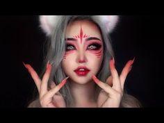 Best way to apply for Foundation Makeup - Style My Hairs Demon Makeup, Fox Makeup, Kawaii Makeup, Edgy Makeup, Cute Makeup, Makeup Art, Gothic Makeup, Fairy Makeup, Asian Makeup