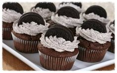 This Chocolate Oreo Cupcakes Recipe is one of those things that you just have to have in your recipe box! Free from Back Roads Living and a tasty dessert!