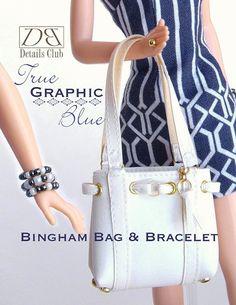 Sewing pattern for 11 1/2 doll Barbie: Bingham por DBDollPatterns