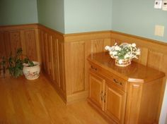 Image Result For Knotty Pine Half Walls With White Paint