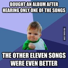 True Story! This happened to me with Katy Perry's Complete Confection CD