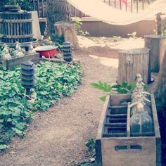 vintage garden i love it!!!!