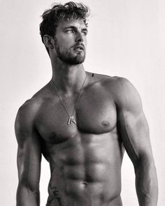 Simple, yet classic and timeless🌟One of my favorite photoshoots of Christian by 📸 Maybe it's about time for another round? Christian Hogue, Sexy Beard, Le Male, Perfect Boy, Shirtless Men, Guy Pictures, Man Photo, Good Looking Men, Models