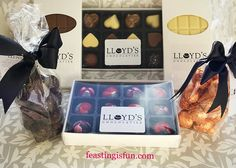 Lloyds Chocolatiers Product Review from delicious truffles delicate fondants and bars of chocolate a thorough review plus Valentine Bark Recipe, Valentine Chocolate, Savoury Baking, Yummy Food, Tasty, Chocolate Bark, Fresh Bread, Product Review, Truffles