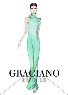 GRACIANO fashion illustration: Gucci S/S 2013 #MFW