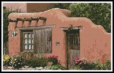 Santa Fe, New Mexico - Cross Stitch Chart