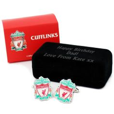 Personalised Liverpool Cufflinks  from Personalised Gifts Shop - ONLY £24.99