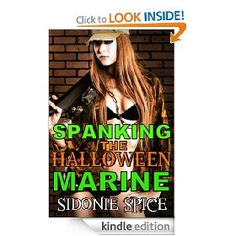 Sara's all dressed up as a Marine for Halloween, but her costume definitely doesn't comply with military regulations. She plans to make her boss stand to attention... in more ways than one!    Adam is an ex-Marine - toned and irresistible. When Sara lures him over to her place, will the drill sergeant in him tolerate her deep cleavage and playful braids, or will he give her the discipline she deserves? Halloween Stories, Drill, Braids, Boss, That Look, Dress Up, Military, Costume, Deep