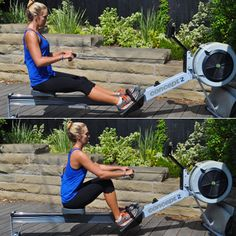 Row! Get in a total-body blast with this effective machine.
