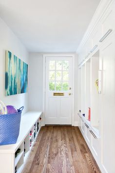 House of Turquoise: Clean Design- Laundry Room door