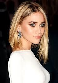 Ashley Olsen long bob