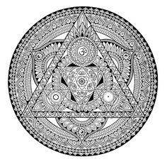 Mandala Designs, zombiecatlady: Mandalas by Kim Hauselberger