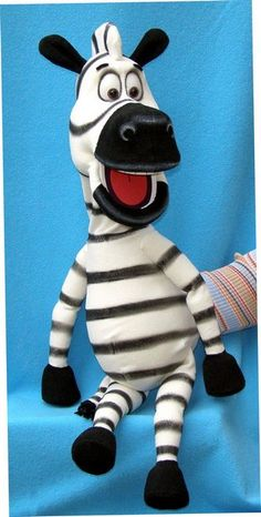 Zebra puppet, Puppet for sale