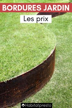 Bordures De Jardin Creer Des Zones Bien Delimitees Jardins Bordure Jardin Metal Bordure Jardin