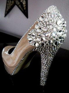 -these shoes would go amazing with 1 of the prom dresses I have picked out:]