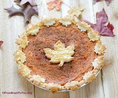 The Best Sweet Potato Pie | From Brazil To You