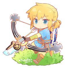 Link BotW ~ aww cute haha