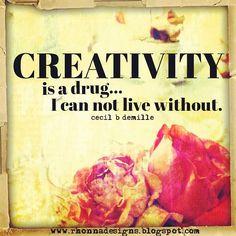 cReate eveRy day. #creativityweek