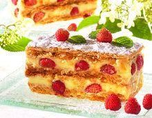 Recette Millefeuille aux fraises des bois, notre recette Millefeuille aux fraises des bois - aufeminin.com