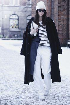お洒落なパリジェンヌから学ぶ★パンツルック5選 の画像|Snapmee スナップミー - ストリートスナップ、セレブファッションスナップ