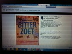blogpost about a review of two #roopafarooki books #bitterzoet en #mijnhalveik  #itisigoodinmyhood