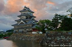 Matsumoto Castle in Japan.  This was the home of the Suzuki violin school.  I took violin lessons from ages 5 to 16 and was taught using the Suzuki method.  I totally recommend it for any child.  There is even a Suzuki violin school in both Chanhassen and Chaska. http://west-side-music.com/westside_strings/Welcome.html