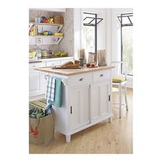 Crate And Barrel Kitchen Island $$$