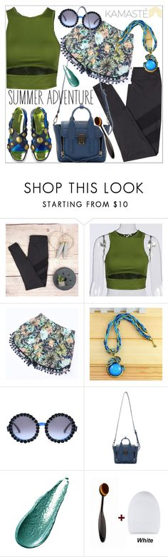 """Kamaste"" by teoecar ❤ liked on Polyvore featuring A-Morir by Kerin Rose, 3.1 Phillip Lim and Giorgio Armani"