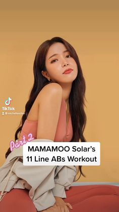 MAMAMOO Solar's 11 Line Abs Workout!