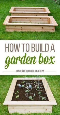 Beautiful little garden box
