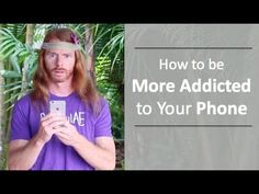"How To Be More Addicted To Your Phone - Ultra Spiritual Life episode 65 Access My Exclusive Teaching Video ""Win Your Mind Back"" Here: http://awakenwithjp.com..."