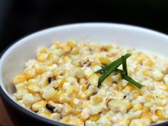 Cheesy Creamed Corn (with cream cheese)